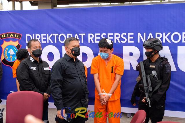 Perwira Polisi yang Bawa 16 Kg Sabu Dipecat, Kapolda Riau: Dia Pengkhianat Bangsa