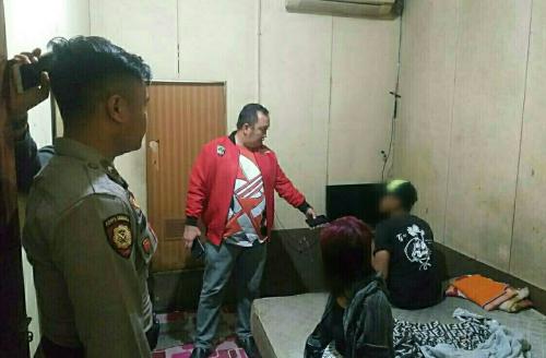 Lima Remaja Terjaring Razia Polisi di Wisma Kota Tembilahan