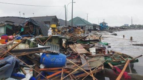 Kesaksian Warga, Ombak Menghilang 10 Menit Sebelum Tsunami Terjang Pantai Anyer