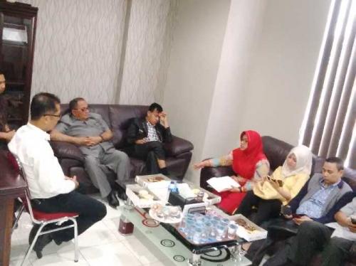 Data Keberadaan TV Kabel, Komisi A DPRD Riau Tinjau ke Sejumlah Stasiun