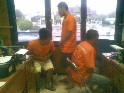 Tiga Pelaku Pesta Sabu di Kantor Bupati Bengkalis Ditetapkan Sebagai Tersangka