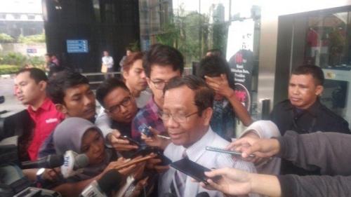 Usai Sambangi Gedung Antirasuah, Mahfud Sebut KPK Miliki Banyak Informasi Jual-Beli Jabatan Rektor UIN