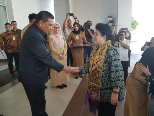 Tiba di Pekanbaru, Menkes akan Membuka Rakerkesda Provinsi Riau