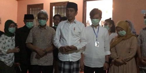 Ibunda Jokowi Derita Kanker Sejak 4 Tahun Lalu