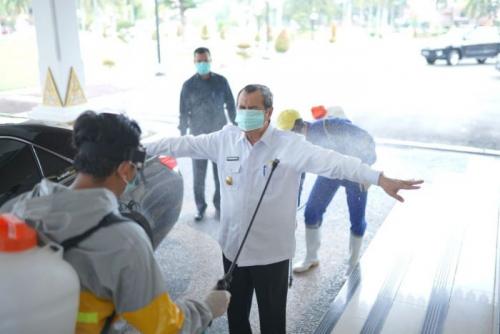Update Suspect Corona Riau, 60 Pasien Dalam Pengawasan, 17 Orang Dipulangkan, 2.438 ODP