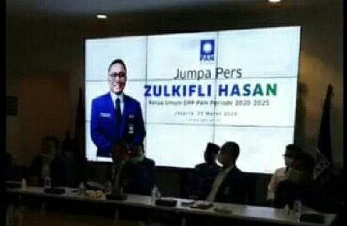 Umumkan Susunan Pengurus DPP PAN, Zulkifli Hasan Akomodir Dua Anak Amien Rais