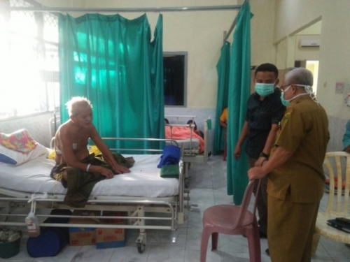 Lihat Sistem Pelayanan ke Para Pasien, Ketua DPRD Inhil Mendadak Kunjungi RSUD Puri Husada Tembilahan