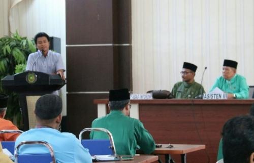 Pemkab Meranti Gelar Rapat Finalisasi DIP, T Akhrial: Transparansi di Tiap OPD Itu Sangat Penting