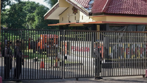 Mako Brimob Purwokerto Diserang Dinihari, Kepala Bripka Imam Terserempet Peluru