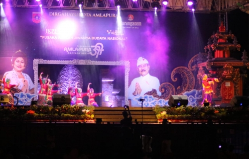 Syair Siak dan Tari Belo Kampung Isi Rangkaian Acara Penutupan Festival Pusaka Nusantara VII
