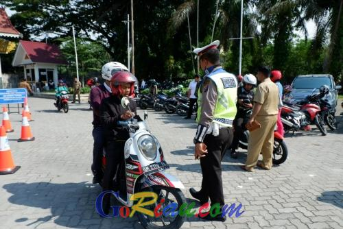 Waduh, 700 Ribu Kendaraan Bermotor di Riau Tidak Bayar Pajak