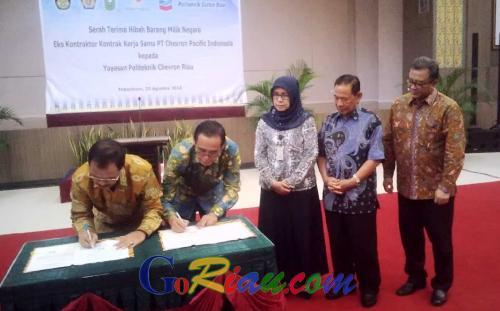 Goriau Yayasan Pcr Terima Hibah Barang Milik Negara Eks Kkks Pt