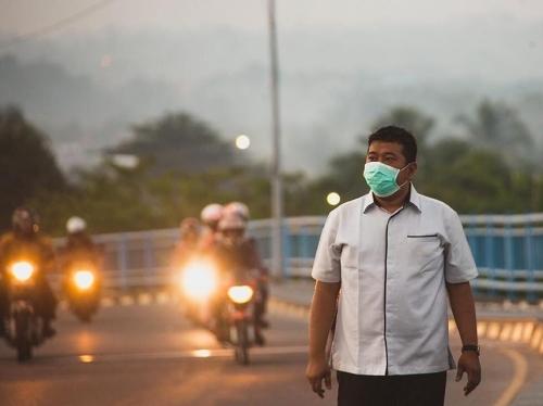 Kualitas Udara Pekanbaru Sangat Tidak Sehat, Wadansatgas Akui Dapat Kiriman Asap
