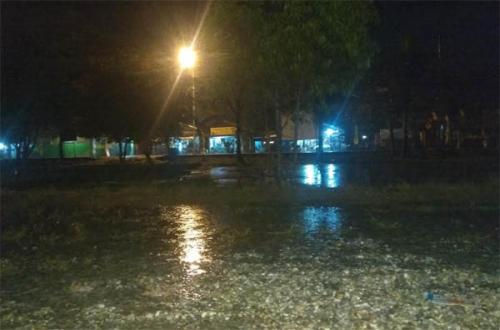 Beberapa Wilayah di Kampar Diguyur Hujan