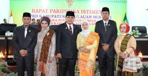 Pelantikan Pimpinan DPRD Meranti, Fauzi Hasan: Buka Mata dan Lebarkan Telinga di Tengah Masyarakat
