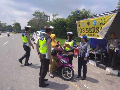 Tindak 681 Pelanggar Lalulintas Saat Operasi Zebra Muara Takus 2019, Satlantas Siak Fokuskan Edukasi kepada Masyarakat