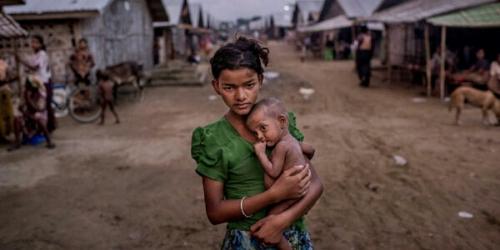 Militer Myanmar Persenjatai Warga Budha Hadapi Muslim Rohingya