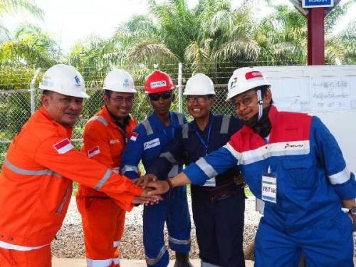 KSO PGN - Pertagas Mengalirkan Gas Perdana di Jaringan Pipa Transmisi Duri - Dumai