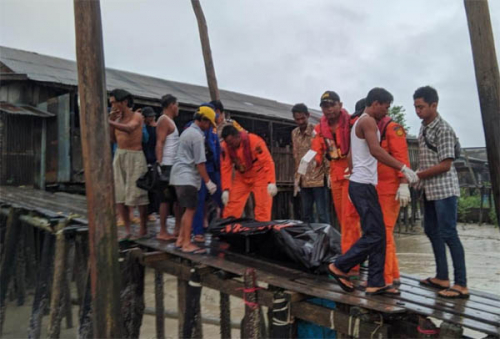 Nelayan yang Tenggelam di Rohil Ditemukan 2 Kilometer dari Lokasi Tenggelam