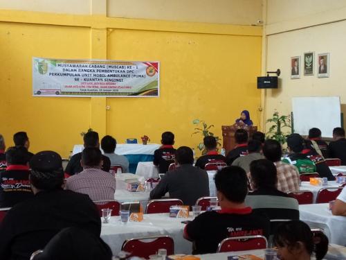 Terpilih Secara Aklamasi, Irwan Erdi Pimpin DPC PUMA Kuansing Periode 2020-2025