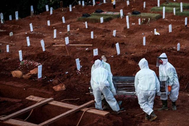 Kasus Covid-19 di Indonesia Sudah Lampaui 1 Juta, 28.468 Wafat
