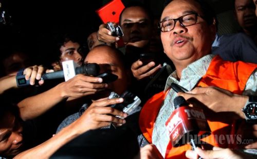 R Adnan: Mantan Gubernur Riau Rusli Zainal Seharusnya Dihukum Mati