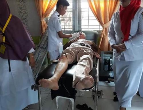 Kakek 64 Tahun di Kampar Jadi Korban Perampokan, Cincin Emas di Jari Dibawa Kabur