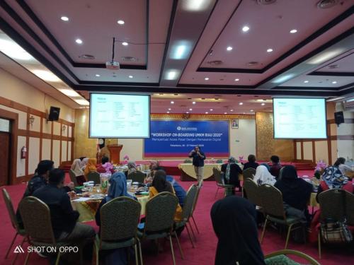 Gelar Workshop Onboarding UMKM, Kpw BI Riau Bekali Pelaku Usaha dengan Ilmu Pemasaran Digital