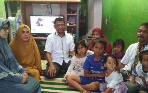 Memilukan, Ayah Wafat Saat Jenazah Ibunya Dimandikan, 6 Bocah Jadi Yatim Piatu