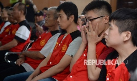 PN Jaksel Vonis Mati 3 WN Taiwan Penyelundup 1 Ton Sabu