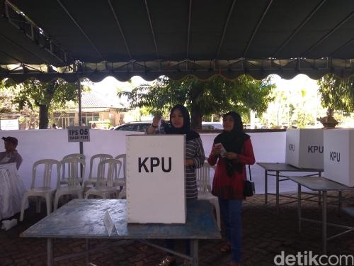 Pencoblosan Ulang di TPS 05 Denpasar, Prabowo Ungguli Jokowi
