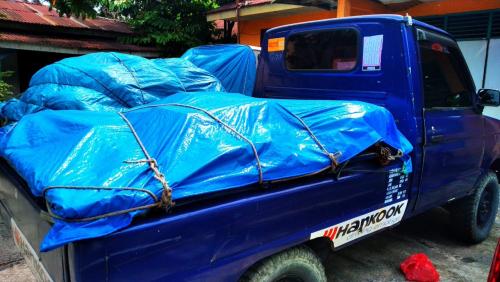 Penerima Hanya 261 KK, Forum Ketua RT/RW Simpang Baru Tolak Bansos Corona Pemko Pekanbaru