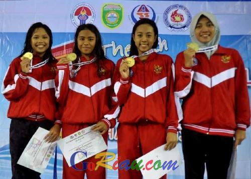 Luar Biasa, Indonesia Raih Tiga Emas Dihari Pertama, Sofie Pecahkan Rekor Nasional