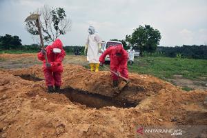 Sejak Ditetapkan Sebagai Pemakaman Korban Covid-19, TPU Tengku Mahmud Palas Pekanbaru Sudah Makamkan 79 Jenazah