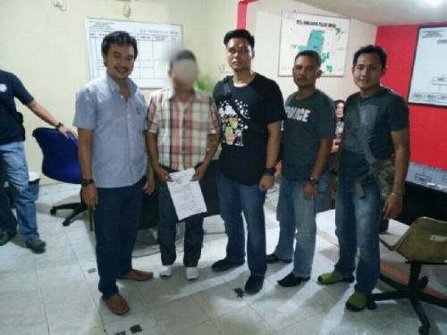 Kabur ke Bintan Kepri, Kawanan Rampok Pedagang Emas Keliling di Kuala Cenaku Dibekuk Polres Inhu