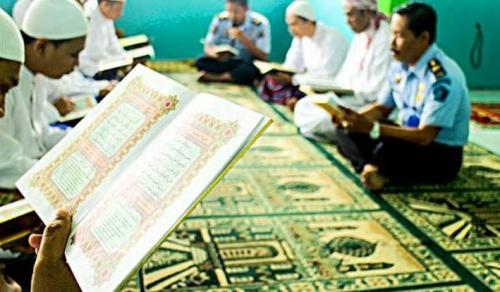Syahdunya Lantunan Al Baqarah dari Balik Jeruji Besi Terdengar Menyayat Hati