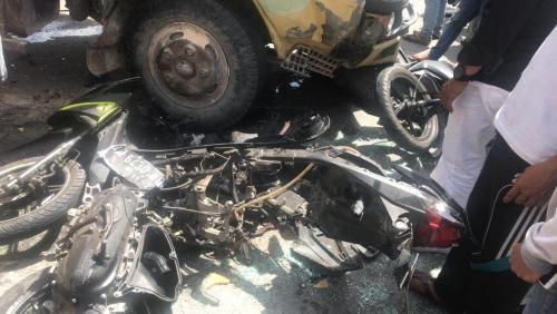 Rem Blong Jadi Penyebab Kecelakaan Beruntun di Simpang Stadion Utama Riau