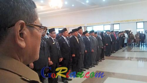 Gubernur Riau: PNS Jangan Berpolitik dan Menebar Isu