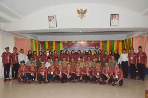 4 Pelajar SMA di Siak Lolos Paskibra Provinsi Riau
