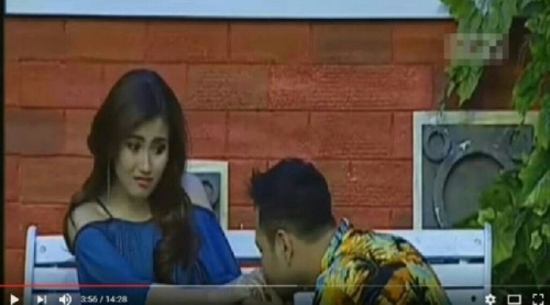 Raffi Ahmad Cium Tangan Ayu Ting Ting di Stasiun Televisi, Ini Penampakannya