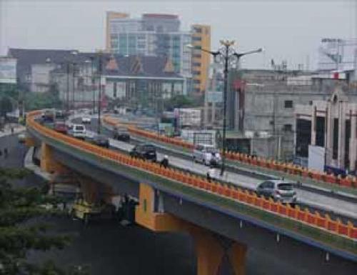 Awal Oktober Pengalihan Arus, Sepeda Motor Dilarang Melintasi Fly Over Pekanbaru