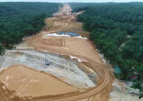 Pembebasan Lahan Lambat, Pembangunan Tol Pekanbaru - Dumai Bisa Dihentikan Pusat