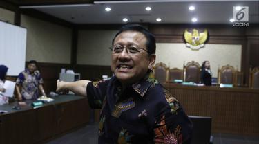 PK Dikabulkan MA, Hukuman Mantan Ketua DPD Irman Gusman Dikurangi