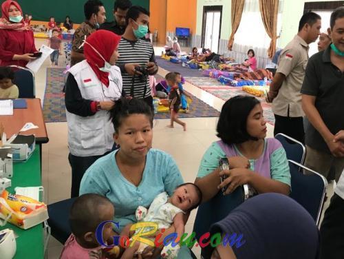 Kadiskes Riau Bantah Kabar Sejumlah Posko Kesehatan Dampak Asap di Pekanbaru Tutup