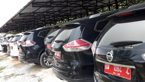Puluhan Kendaraan Dinas Milik Pemkab Pelalawan Akan Dilelang