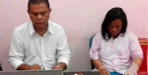 Alamak... Anggota TNI AL Bersimbah Darah Dibacok Istri Sendiri