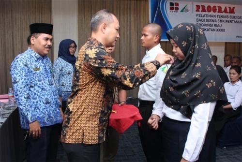 Lahirkan Generasi Unggul Penerus Kelapa Sawit, LPP Medan Gelar Pelatihan untuk SMK Perkebunan dan Pertanian se-Riau