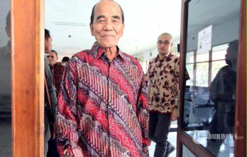 Komplikasi dan Berusia 78 Tahun Jadi Pertimbangan Presiden Jokowi Beri Grasi kepada Mantan Gubernur Riau Annas Maamun