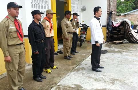 DPD PKS Kampar Gelar Apel Siaga Rakerda III 2012