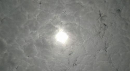 Begini Penampakan Matahari di Painan Saat Terjadi Gerhana
